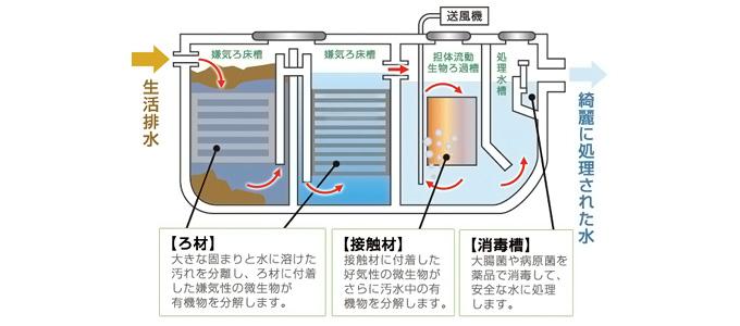 逆流 浄化槽 浄化槽の臭いが部屋まで臭います。